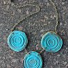 tri-rivers clay handmade necklace