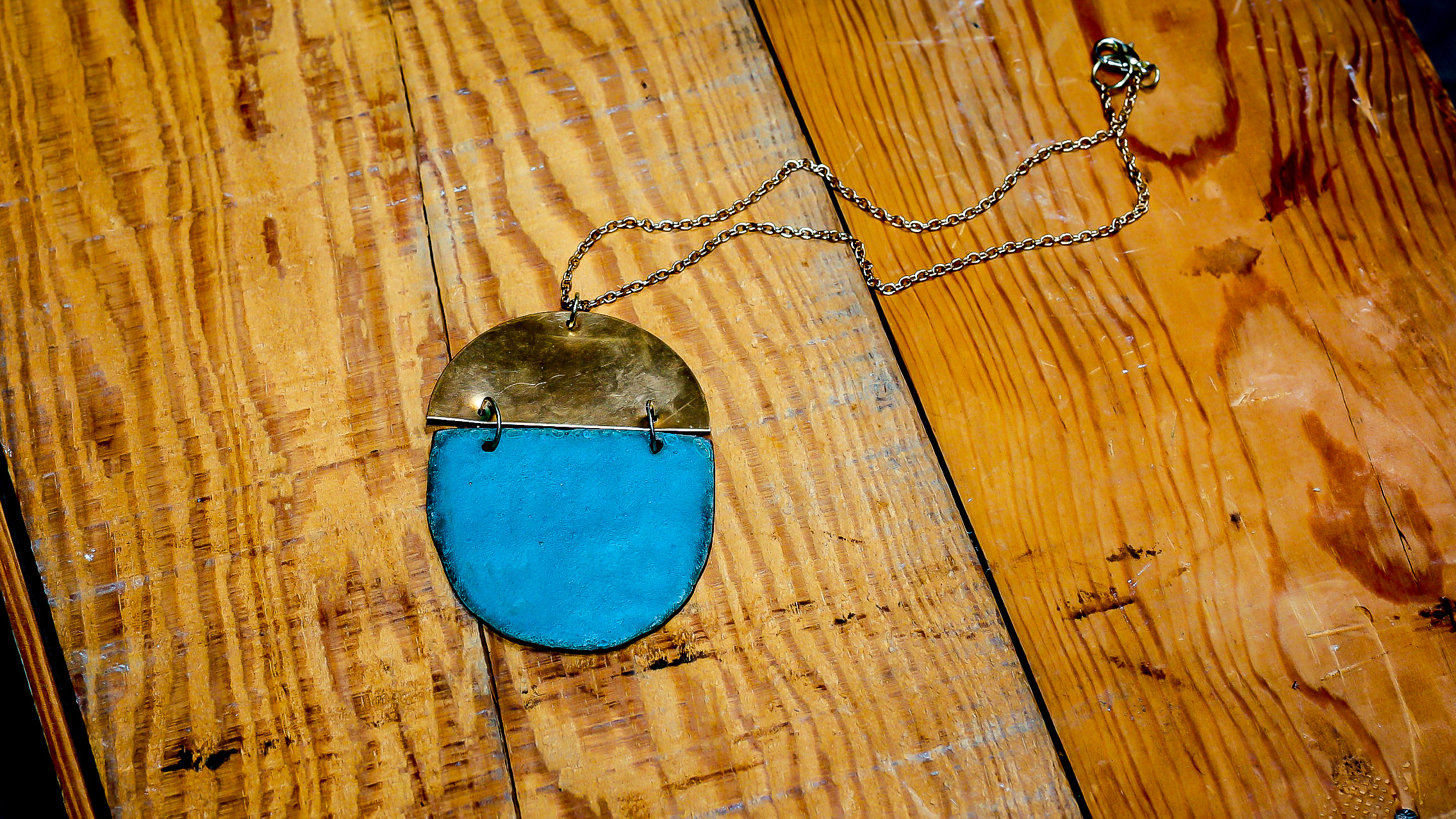 Cool Waters handmade bronze and clay jewelry