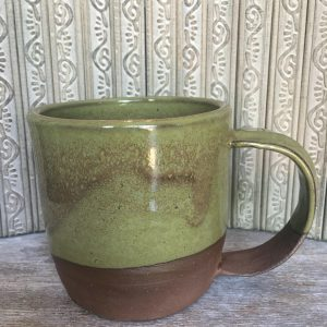 wheel-thrown handmade mug